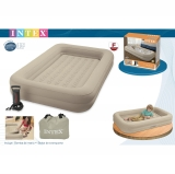Cama Hinchable Manual para Niños con Borde 107x168x25 cm
