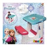 Smoby - Pupitre Frozen .Outlet.Producto con Embalaje Deteriorado
