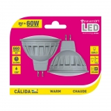 Pack de 2 Bombillas Led GU5.3 8W