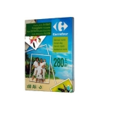 Papel Carrefour Inkjet Brillo 280gr 50 Hojas