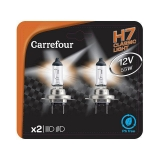 BLISTER LAMPARA CARREFOUR H7 2UDS