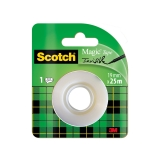 Cinta Invisible en Rollo 19x25 m Scotch