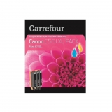 Pack Cartucho de Tinta Carrefour CAN 551XL - Tricolor