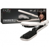 Cepillo Alisador Idtalian Design Steam Brush 2.0