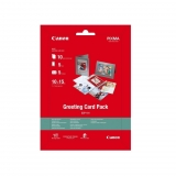 Papel Fotográfico Canon Greeting Card Pack 10 Hojas