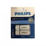 Pack 2 Memorias USB Philips Snow Edition  32GB