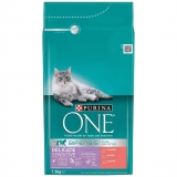 Comida para Gato Purina One Sensitive Salmón 1,5 Kg