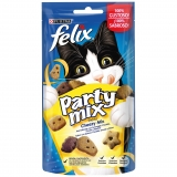 Snacks para Gato Purina Felix Party Mix Cheezy Mix 60 gr