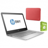 Portatil HP Envy 13-d101ns con i7, 8GB, 256GB, 33,78 cm - 13,3''  con Funda HP  14.0 y Antivirus Panda