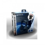 Headset HC-2  Gioteck Wired Stereo Universal con Camiseta Battlefield 1 Talla L