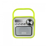 Radio Sunstech RPBT420 con Bluetooth - Verde