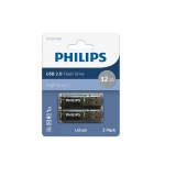 Pack de 2 Memorias USB Philips Urban 32GB