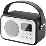 Radio Portátil Digital Bluetooh Sunstech RPBT450 - Negro