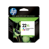 Cartucho de Tinta HP 22XL - Tricolor