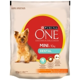 Purina One Mini Dental Pollo 800 gr