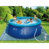 Piscina Hinchable con Escalera 457x122 cm