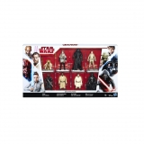 8 Minifig Star Wars Movies - Carrefour