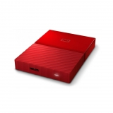 Disco duro Externo Western Digital My Passport 2TB - Rojo
