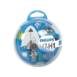 KIT  ESTUCHE 7 LÁMPARAS PHILIPS ESSENTIAL H1 + H7