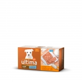 Alimento Húmedo Ultima Dog Junior Multipack Latas 4x150 gr
