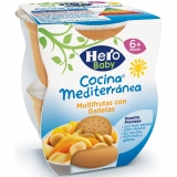 Pack Dos Tarritos Hero Baby Multifruta y Galleta