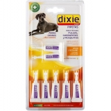 Pack Pipetas Insectífugas para Perro Grande 7X2 Ml Dixie