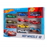 Mattel - Pack 10 Vehiculos Hot Wheels