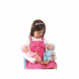 Pack Gemelos Baby Doll Aimantine 30 cm - Carrefour