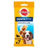 Pedigree Dentastick Perros Medianos. Pack 7 barritas 180gr