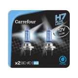 BLISTER 2 LÁMPARAS CARREFOUR H7 HIGH TECH BLUEVISION