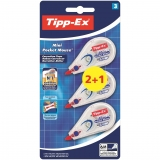 Corrector Cinta Tipp-Ex Mini Pocket Mouse 2+1