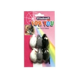 Ratones Felpa para Gato Vitakraft For You 6 Uds
