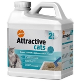 Arena Absorbente Attractive Cats 6.36 Kg
