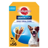 Pedigree Dentastick. Pack Mensual de 56 barritas
