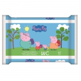 Toallitas WC Junior Peppa Pig 60uds