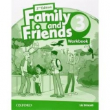 Family & Friends 3: Activity Book 2ª Edición