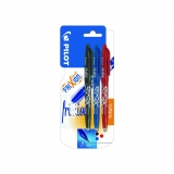 Pack 3 Roller Tinta Borrable Frixion Ball