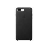Funda de Piel para iPhone 8 Plus/7 Plus - Negro