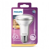 Bombilla LED Regulable Reflectora Philips  5,7W = 60W E27 Cálida R63