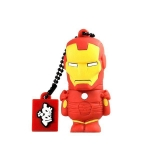 Memoria USB Tribe Silverht Iron Man 8Gb
