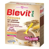 Papilla Infantil Blevit Plus Trocitos Cereales y Pepitas Chocolate 600