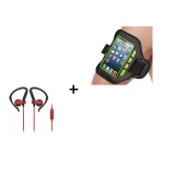 Auriculares con Funda LED Innova Bundle Runner