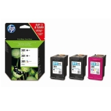 Cartucho HP 301 Pack 2 Negros + 1 Color
