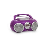 Radio CD Bigben Boombox CD32 - Morado