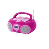 Radio CD Bigben Boombox CD32GB - Rosa