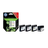 Pack de 4 Cartuchos de Tinta HP 932XL/933XL