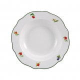 Plato Redondo de Porcelana BRUNCHFIELD Lewes 1pz - Decorado