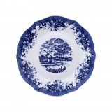 Plato Redondo de Porcelana BRUNCHFIELD Skye 1pz - Decorado
