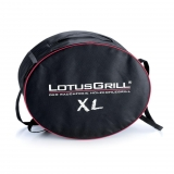 Barbacoa de LotusGrill XL. Rojo