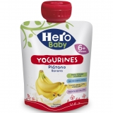 Bolsita Yogurines Hero Baby Plátano 80 gr